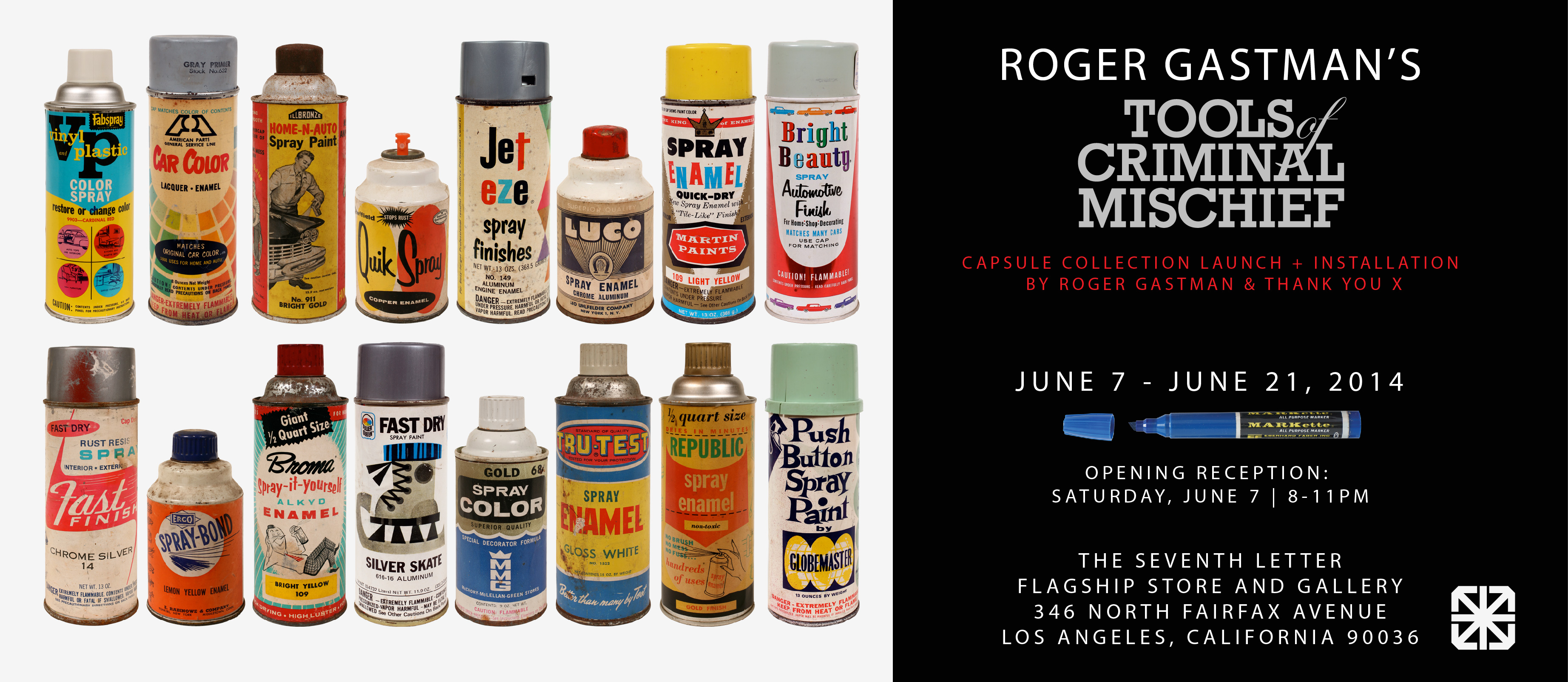 "Roger Gastman's ""Tools of Criminal Mischief"" @ The Seventh Letter: JuxtapozGastman006.jpg"