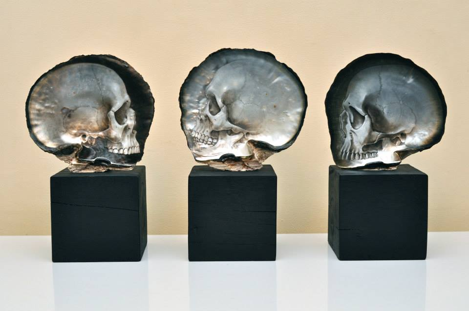 Gregory Halili's Carved Mother of Pearl Skulls: JuxtapozGregoryHalili001.jpg