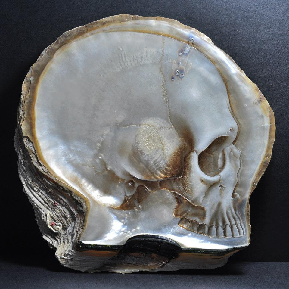 Gregory Halili's Carved Mother of Pearl Skulls: JuxtapozGregoryHalili014.jpg