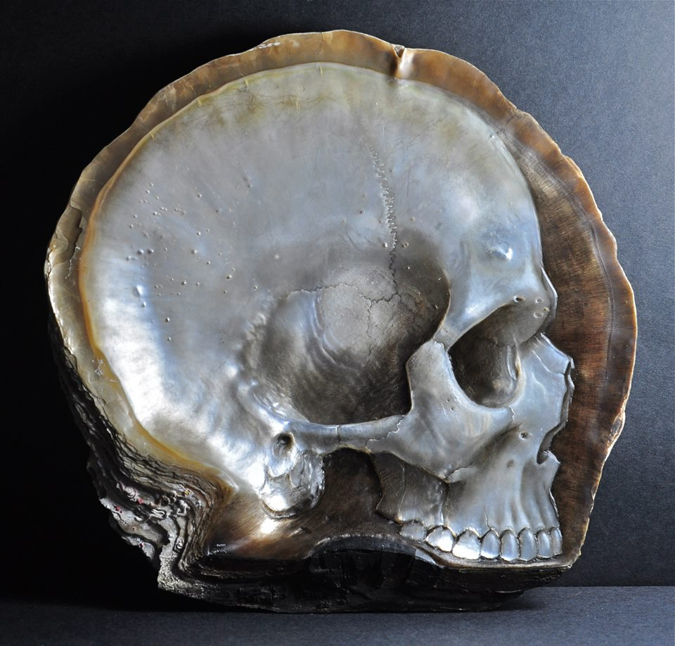 Gregory Halili's Carved Mother of Pearl Skulls: JuxtapozGregoryHalili016.jpg