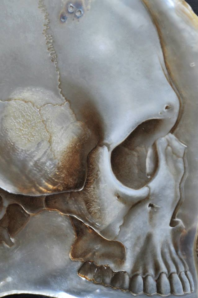 Gregory Halili's Carved Mother of Pearl Skulls: JuxtapozGregoryHalili022.jpg