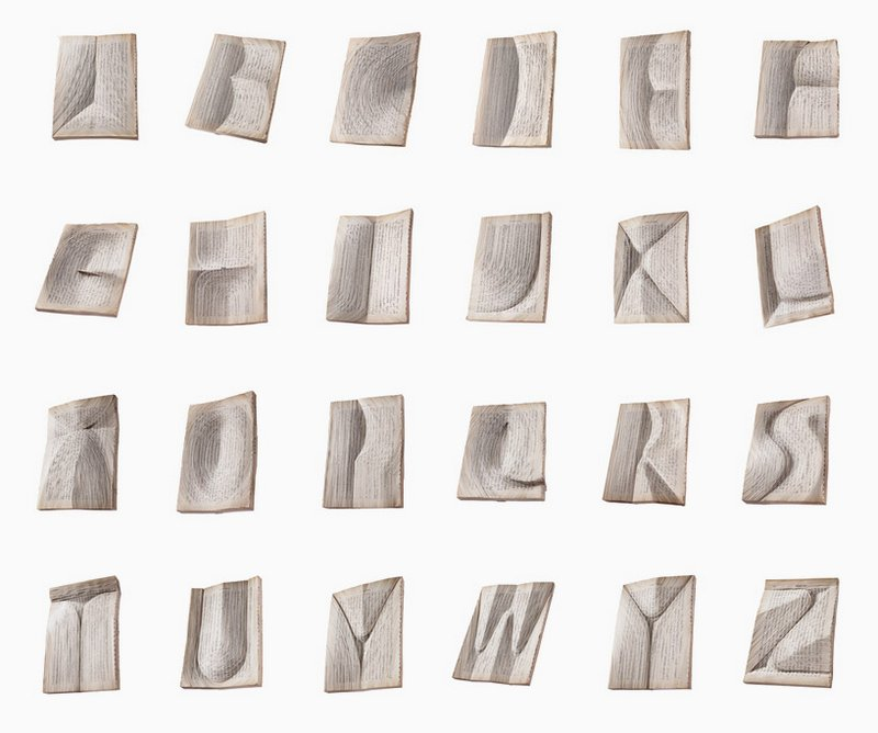 Typeface Created From Carved Japanese Books: nerhol-alphabet-9.jpg