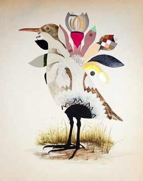"MONICA CANILAO ""Born From Ruins"" @ Subliminal Projects, Los Angeles: Bird-VAS-1.jpg"