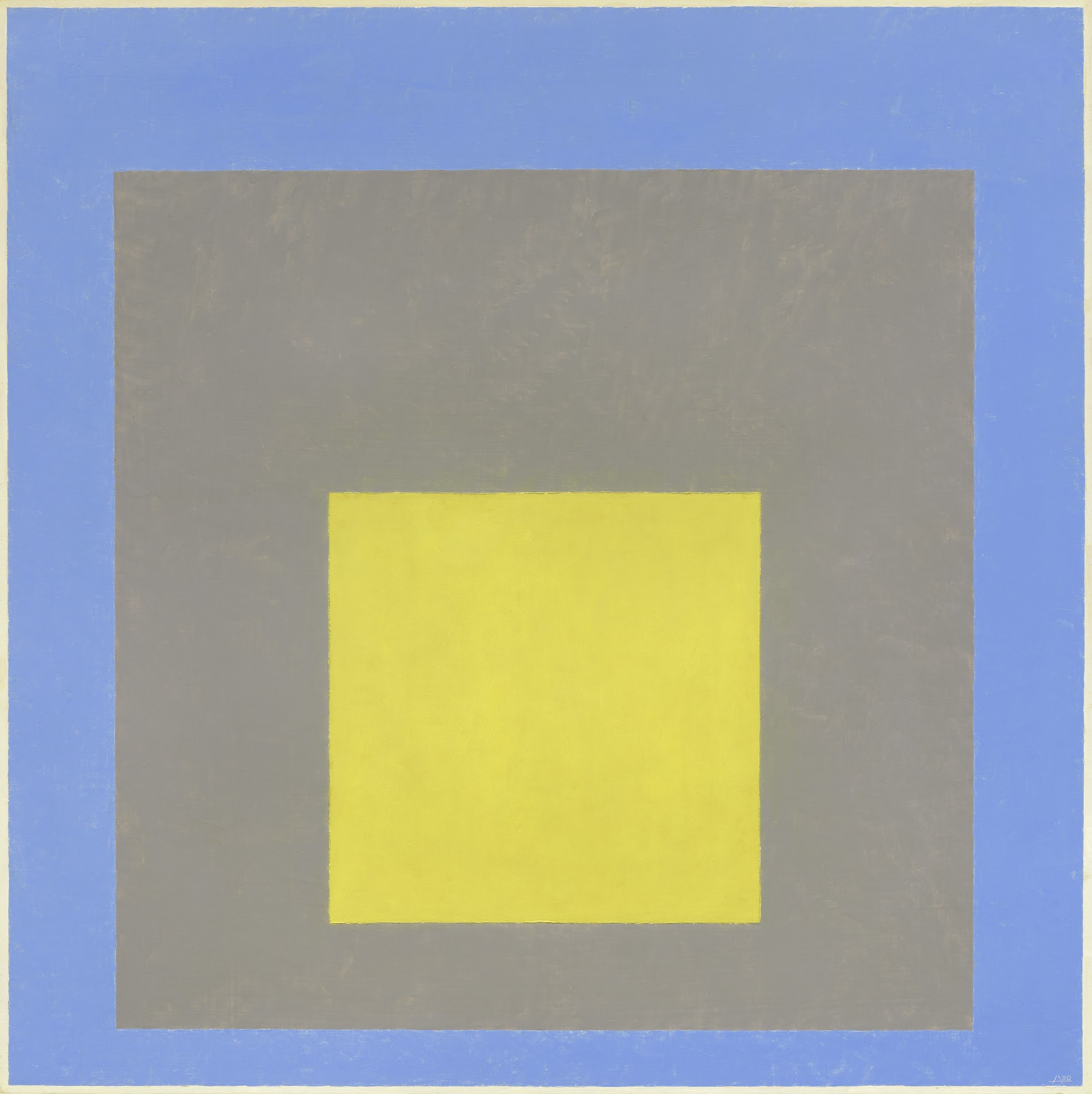 Modernism from the National Gallery of Art @ De Young Museum, SF: Albers_Study for Homage.jpg