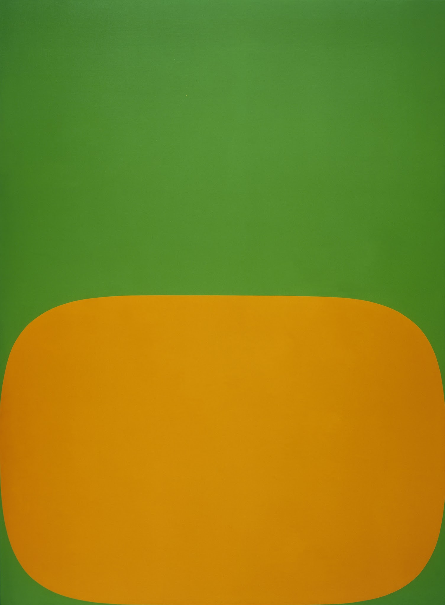 Modernism from the National Gallery of Art @ De Young Museum, SF: Kelly_Orange Green.jpg