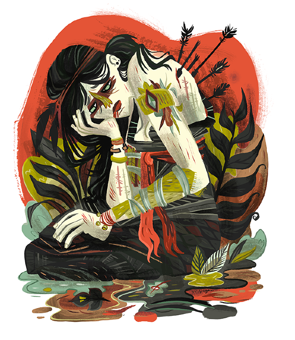 Pam Wishbow: Punk and Power Tools: hunted-wishbow_600.png
