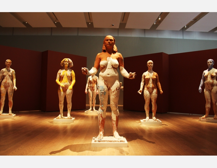 Kathy Venter's Life Size Ceramic Sculptures: IMG_5062.JPG