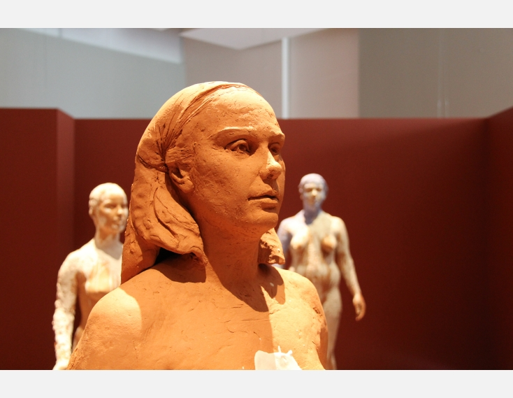 Kathy Venter's Life Size Ceramic Sculptures: IMG_5063.JPG