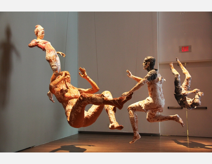 Kathy Venter's Life Size Ceramic Sculptures: IMG_5083.JPG