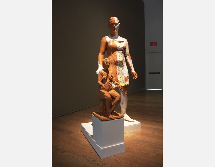Kathy Venter's Life Size Ceramic Sculptures: IMG_5087.JPG