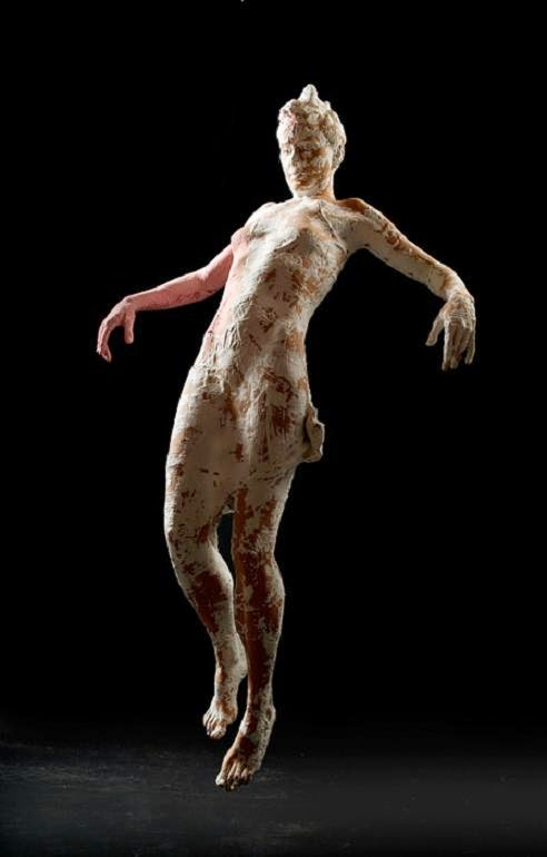 Kathy Venter's Life Size Ceramic Sculptures: kathy venter 2.jpg