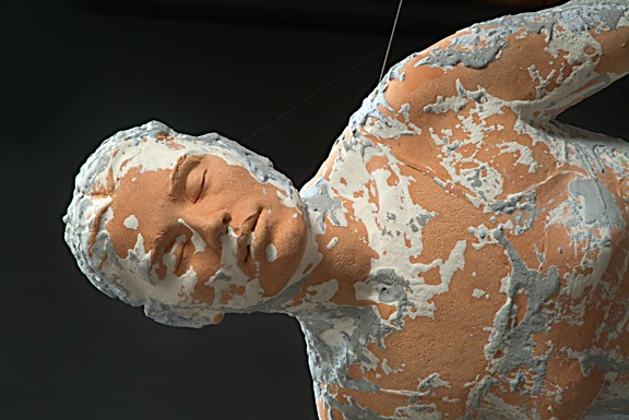 Kathy Venter's Life Size Ceramic Sculptures: kathy venter 6.jpg