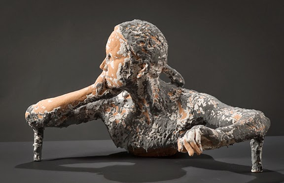 Kathy Venter's Life Size Ceramic Sculptures: kathy venter 7.jpg