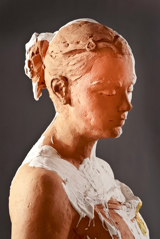 Kathy Venter's Life Size Ceramic Sculptures: kathy venter 8.jpg