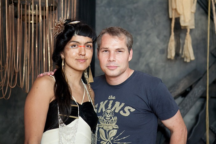 "Opening: Monica Canilao ""Born From Ruins"" @ Subliminal Projects, LA: Monica-Canilao-Shepard-Fairey.jpg"