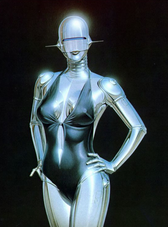 Hajime Sorayama Debuts Sexy Robot Sculpture: Screen-Shot-2014-05-14-at-3.20.44-PM.jpg