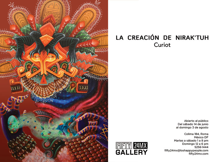 "Curiot ""The Creation of Nirak´tuh"" @ FIFTY24MX, Mexico City: 05.jpg"