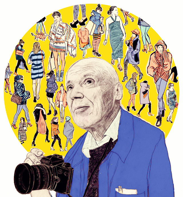 Anna Higgie's Pencil Drawings: BILL CUNNINGHAM The Cut2_640.jpg