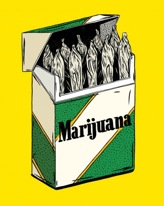 Kelsey Dake's Illustrated Objects: MarijuanaCigs3-768x964.jpg