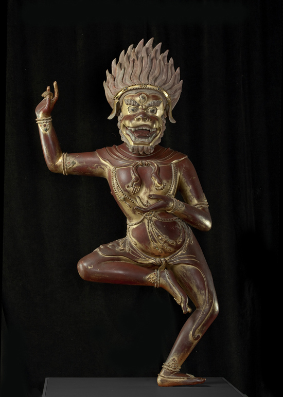 "SFMoMA on the Go: ""Gorgeous"" @ Asian Art Museum, SF: AAM Gorgeous The Buddhist deity Simhavaktra Dakini EX 2014.1.A10_v1.jpg"