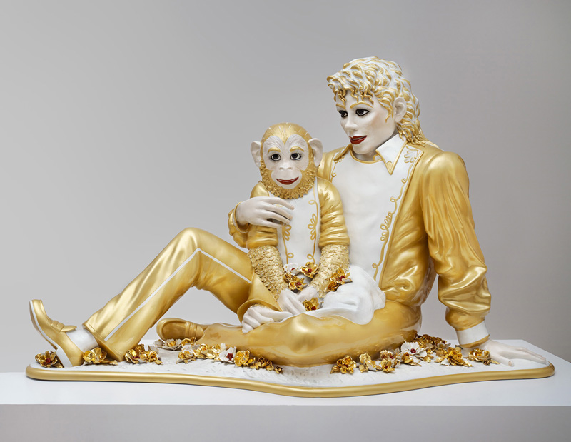 "SFMoMA on the Go: ""Gorgeous"" @ Asian Art Museum, SF: SFMOMA Gorgeous Michael Jackson and BubblesEX 2014.1.15_v2.jpg"
