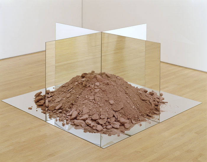 "SFMoMA on the Go: ""Gorgeous"" @ Asian Art Museum, SF: SFMOMA_RobertSmithson_Nonsite.jpg"