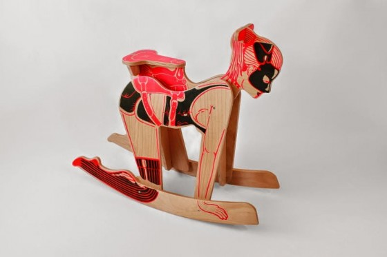 Peter Jakubik's Erotic Home Accessories: Ponygirl-rocker-560x373.jpg