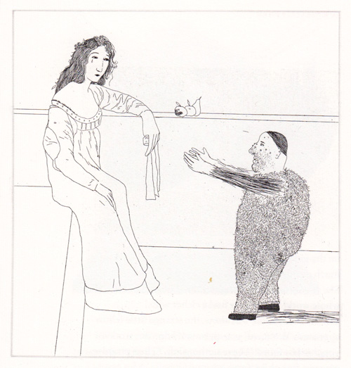 David Hockney Illustrates the Brothers Grimm: davidhockney_grimm11.jpg