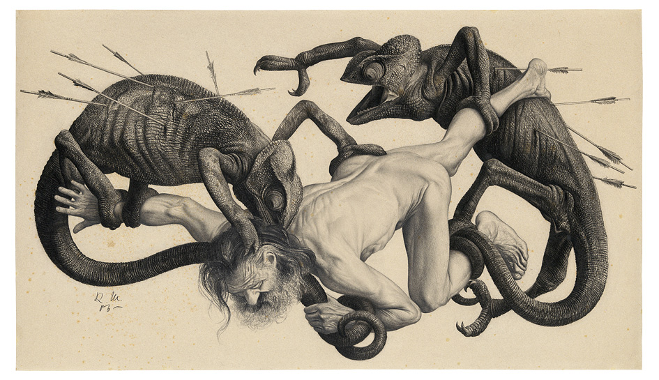 The Intricate Illustration and Erotica of Richard Müller (1874-1954): JuxtapozRichardMueller03.jpg