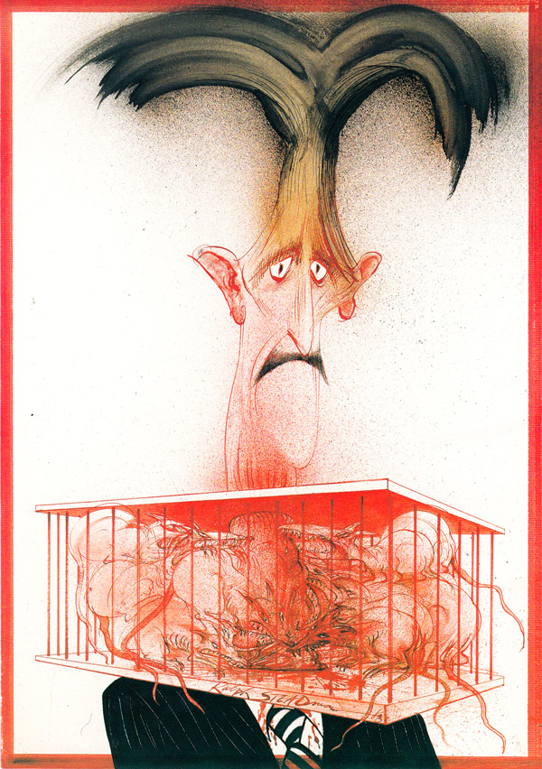 "Ralph Steadman's ""Animal Farm"" Illustrations: animalfarm_steadman1.jpg"