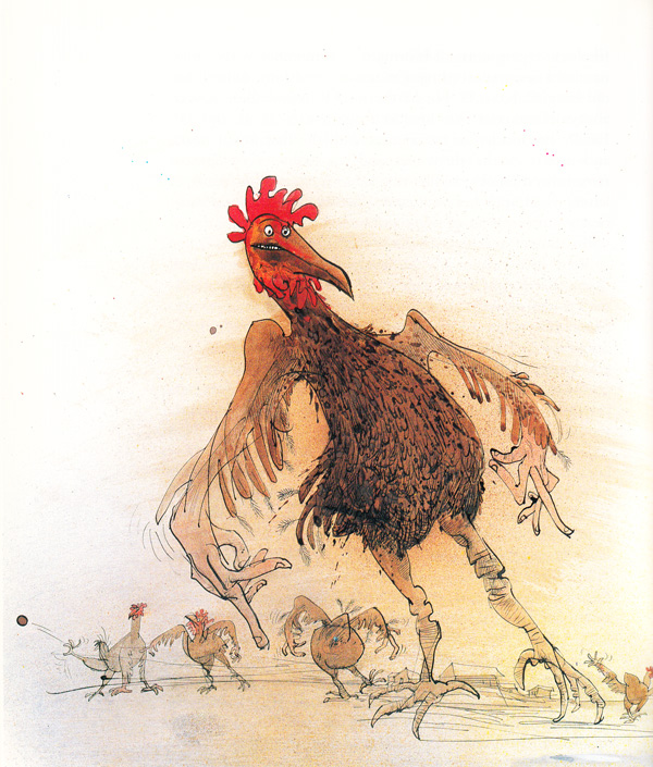 "Ralph Steadman's ""Animal Farm"" Illustrations: animalfarm_steadman11.jpg"