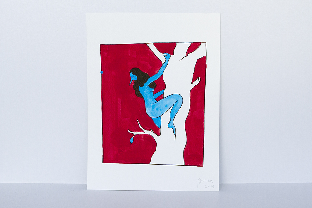 "Preview: Parra ""Same Old Song"" @ HVW8 Gallery, Los Angeles: escapetonowhere1k.jpg"