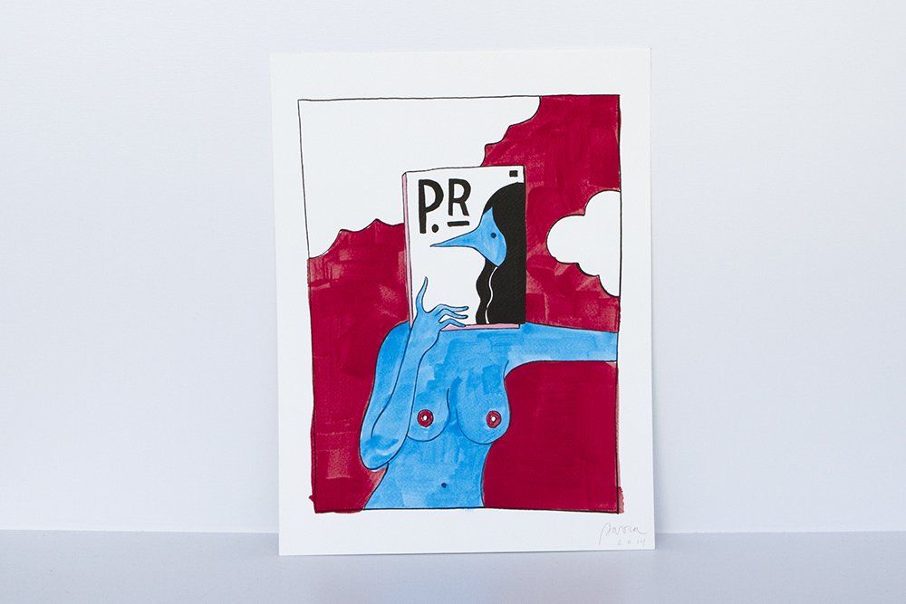 "Preview: Parra ""Same Old Song"" @ HVW8 Gallery, Los Angeles: magazines1k.jpg"