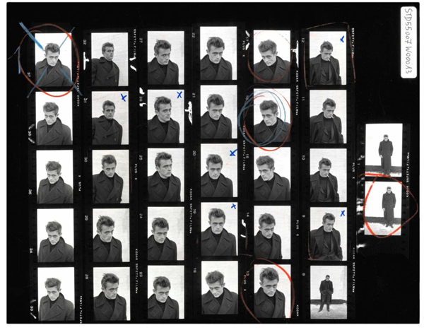 """Magnum Contact Sheets"" @ Milk Gallery: jux-magnum-contact-3.png"