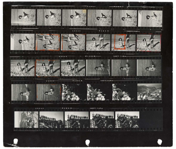 """Magnum Contact Sheets"" @ Milk Gallery: jux-magnum-contact-4.png"
