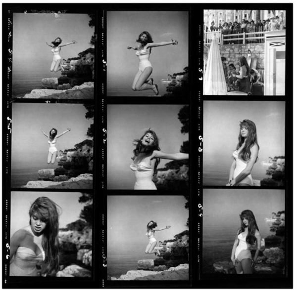 """Magnum Contact Sheets"" @ Milk Gallery: jux-magnum-contact-5.png"