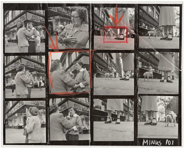 """Magnum Contact Sheets"" @ Milk Gallery: jux-magnum-contact-6.png"