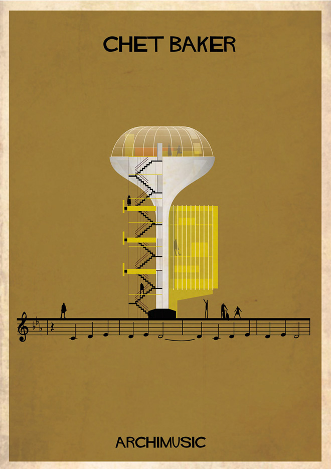 """Archimusic"" by Federico Babina: 13-federico-babinas-archimusic-illustrations.jpg"