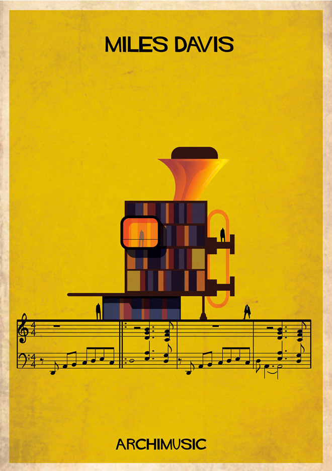 """Archimusic"" by Federico Babina: 2-federico-babinas-archimusic-illustrations.jpg"