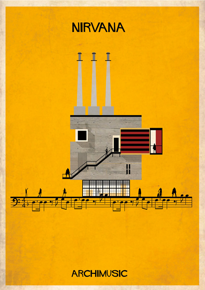"""Archimusic"" by Federico Babina: 20-federico-babinas-archimusic-illustrations.jpg"