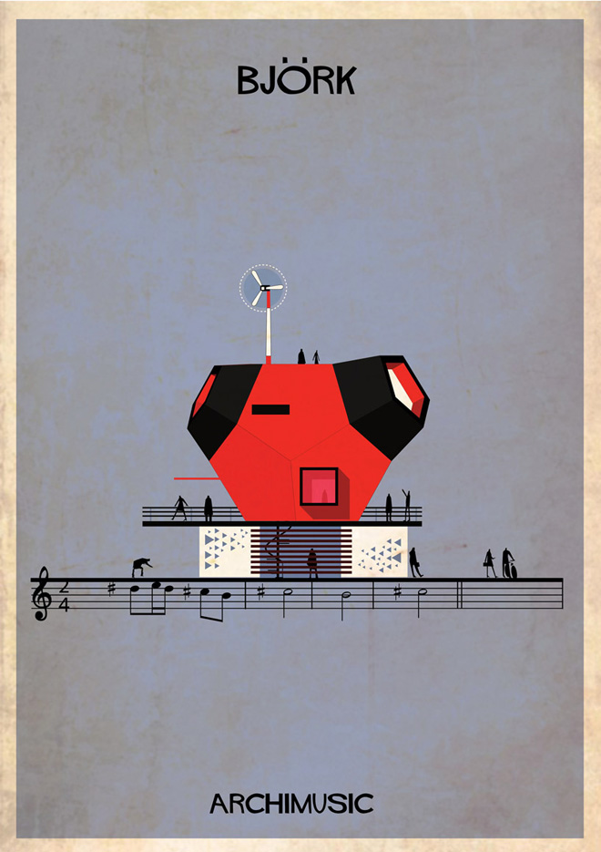 """Archimusic"" by Federico Babina: 21-federico-babinas-archimusic-illustrations.jpg"
