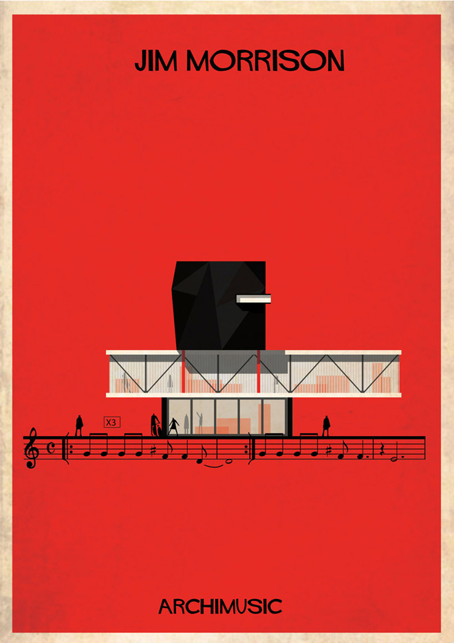 """Archimusic"" by Federico Babina: 25-federico-babinas-archimusic-illustrations.jpg"