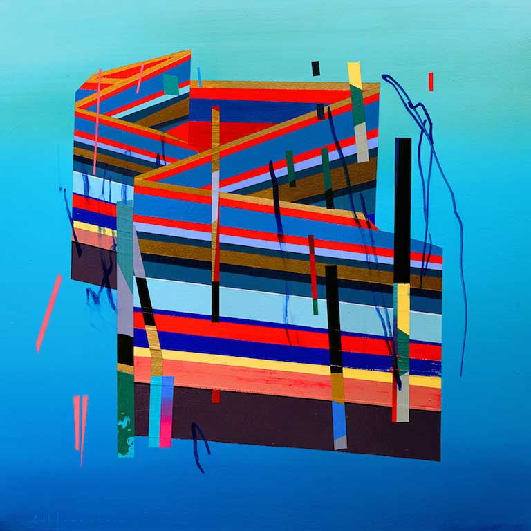 "Erik Jones ""Motion"" @ Hashimoto Contemporary, SF: House-in-Water.jpg"
