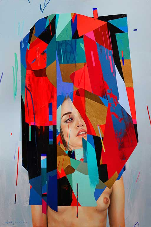 "Erik Jones ""Motion"" @ Hashimoto Contemporary, SF: Shell-Blue-Ground.jpg"
