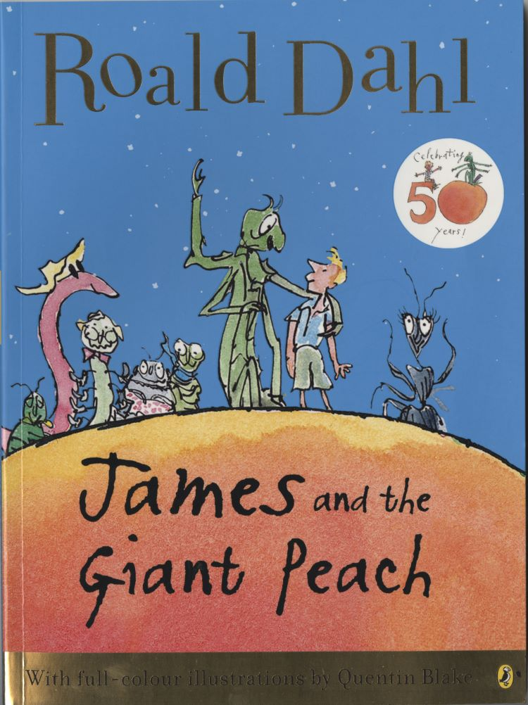 "Quentin Blake ""Inside Stories"" @ House of Illustration, London: 2011 James and the Giant Peach.jpg"