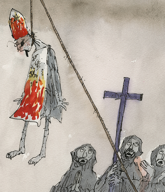 "Quentin Blake ""Inside Stories"" @ House of Illustration, London: candide.png"