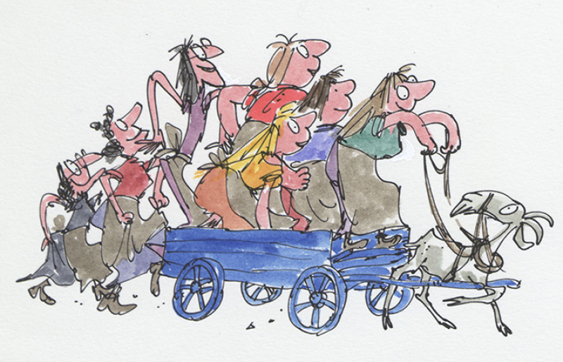 "Quentin Blake ""Inside Stories"" @ House of Illustration, London: lp32015a_wild_washerwomen.png"