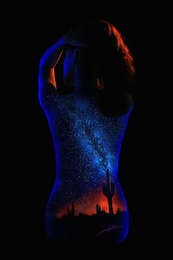 John Poppleton's Black Light Bodyscapes: johnpoppleton131.jpg