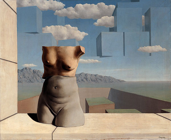"Magritte 1947-1948 The ""Vache"" Period: Marches of Summer Les Marches de l'Été, 1938.jpg"