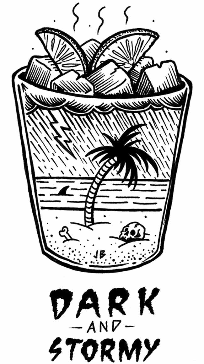Summertime Illustrations from Jamie Browne: DARK_N_STORMY_WEB_LR.jpg